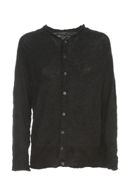 OFF N L/S BUTTON CARDIGAN
