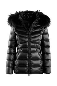 REAL FEATHER DOWN JACKET REAL FUR 5CM