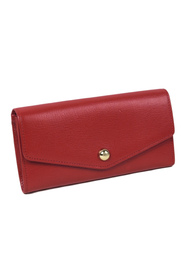 Leather Long Wallet Leather Calf United Kingdom