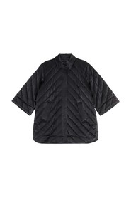 Heavy Satin Quilted Jacket
