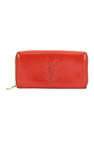 Pre-owned Patent Leather Long Wallet