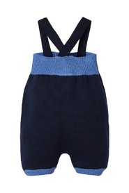 Overalls cotton knitted