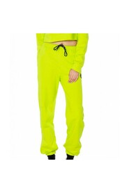 Pantalone in felpa con logo e fondo chiuso E21GE20