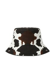 Camouflage Print Cotton Canvas Bucket Hat