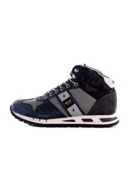 BLAUER 9FMUSTANG02/CAM Trainers Men GREY