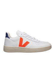 Shoes leather trainers sneakers v 10