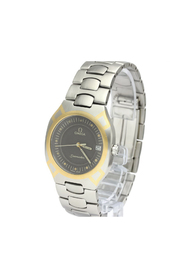 Pre-owned Seamaster Polaris 18K Gold Steel Mens Watch 396.1022