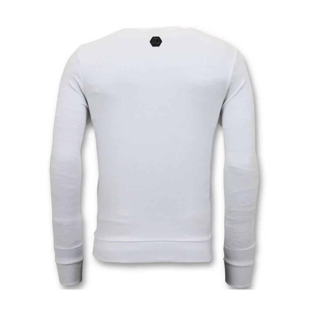 White Sweater | Enos | Hoodies  sweatvesten | Heren winter kleren