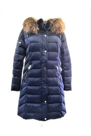 AMIRA ROYAL NAVY DOWN REAL FUR BARK