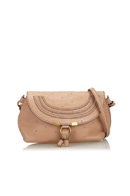 Small Studded Leather Marcie Crossbody Bag