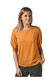 Vipenni Boat Neck 2/4 Sleeve T-Shirt