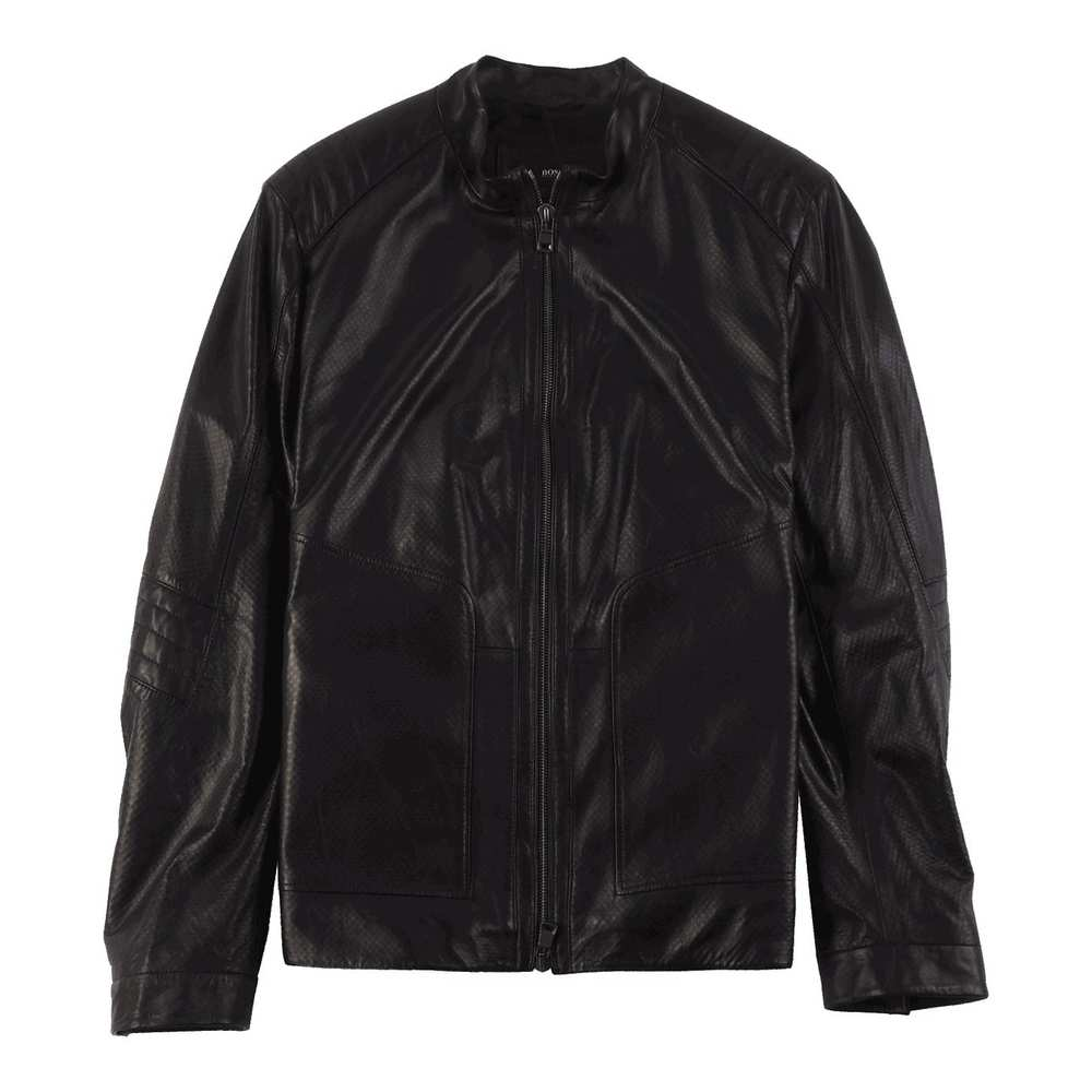 Regular Fit Leather Jacket from The Mercedes Benz Collection