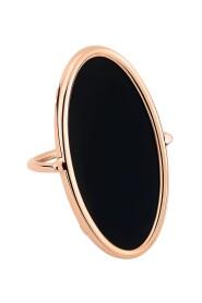 Onyx Ellipse Ring
