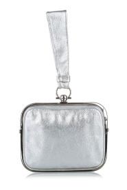Gancini Clara Leather Handbag