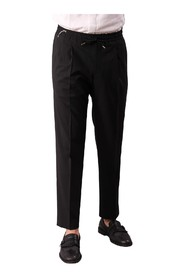 TASMANIA TROUSERS WITH 1 PENCE COULISSE