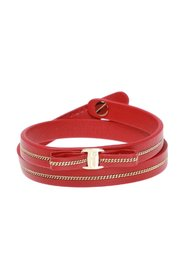 Leather bracelet with bow