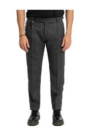 Retro Slim-Fit Trousers