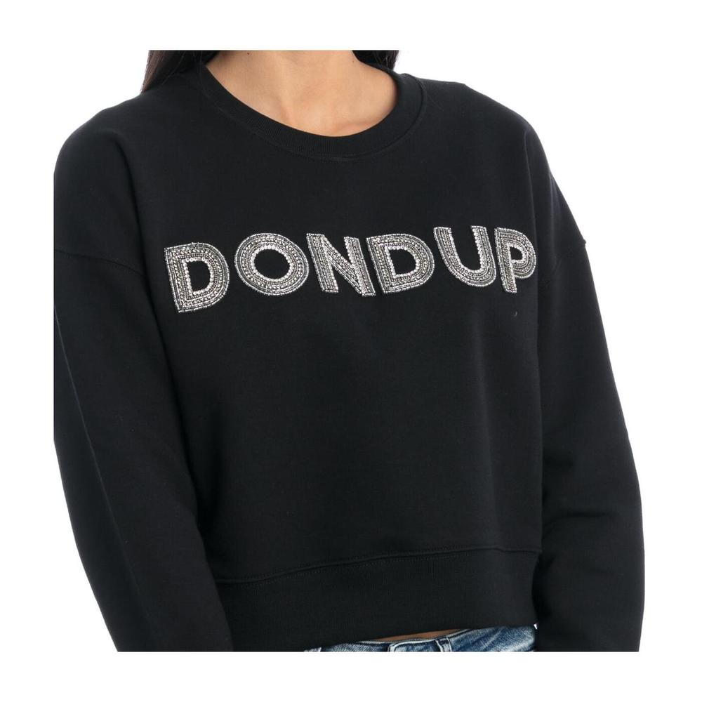 Dondup Black CREWNECK SWEATSHIRT Dondup