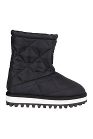 logo-patch padded boots