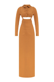 Dress with cut-outs