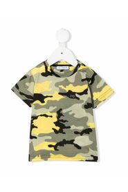 T-shirt with camouflage print