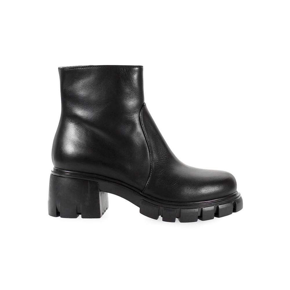 FRU.IT BLACK NAPPA LEATHER BOOTIE
