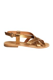 Bartolo laminated leather sandals