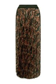 Plisse Forest Skirt