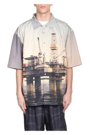 Oil Rig Bowling Shirt