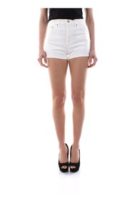 LEVIS 501 SHORT HIGH RISE 56327 SHORTS AND BERMUDAS Women WHITE
