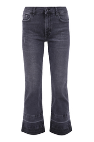 JEANS CROPPED BOOT UNROLLED