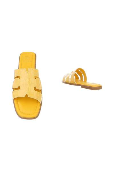 Yellow Sandale | GIVANA | Fitflops