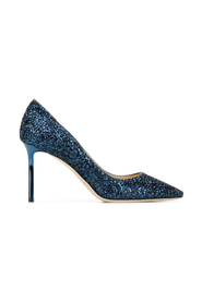 COARSE GLITTER PUMPS