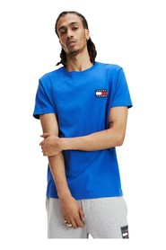 TOMMY JEANS DM0DM06595 BADGE TEE T SHIRT AND TANK Men SURF THE WEB
