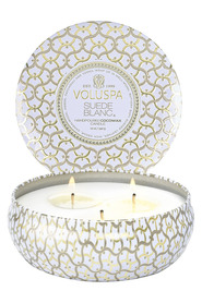 3 - Wick Tin Candle 40 Timer