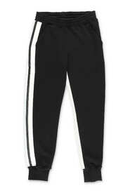 sweatpants with contrasting panels