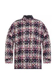 Oversize tweed jacket