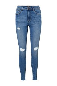 Slim fit jeans normal midja