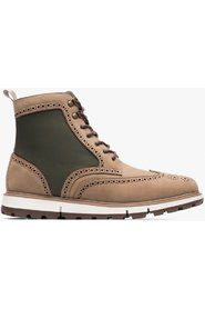 Beige Swims Motion Wing Tip Boot Sko