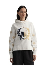 D1 Crest Embroidery Sweat Hoodie