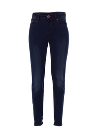 Dark blue denim Marc Lauge Luna jeans med slid