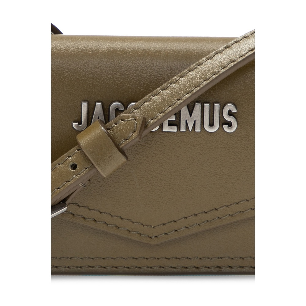 Jacquemus Green 'Le Porte Azur�?shoulder bag Jacquemus