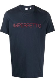 imperfetto print t-shirt