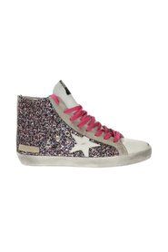 Francy sneakers with worn effect
