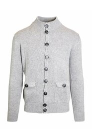Wool and cashmere blend cardigan