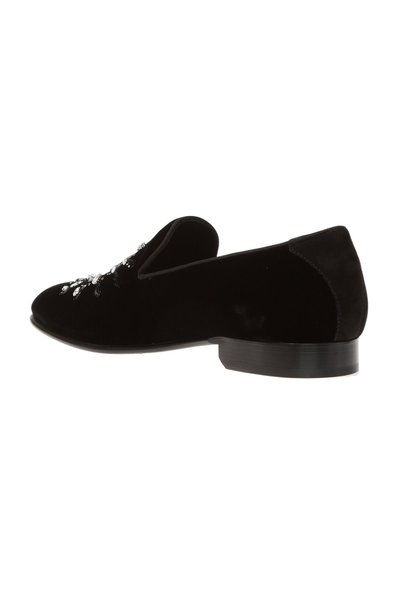BLACK 'Thame' loafers   Jimmy Choo   Loafers