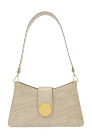 Baguette Bag in Croco Leather