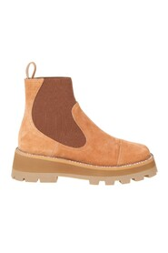clayton boots in suede