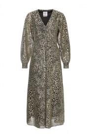 Calle Long sleeve Shimmer Dress