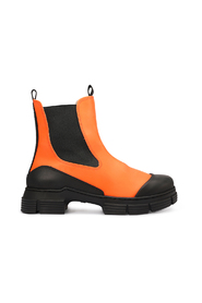 Recycled rubber city Flame boots